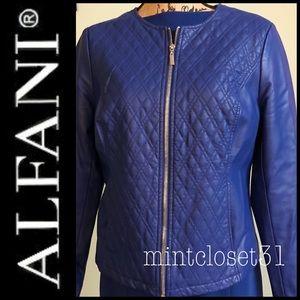 Alfani Blazer Zipper Coat